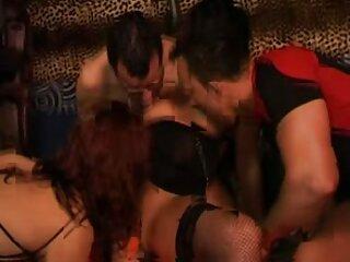 سبزه با گروه تلگرام sex جوراب ساق بلند مرد را گره می زند و او را مقعد می کند